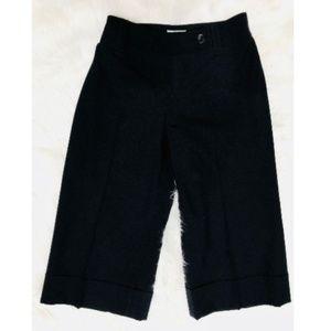 Ann Taylor LOFT Sz 2 Black Pants Wool Blend